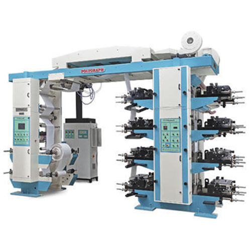 8 Colour Flexographic Printing Machine - 1 Number